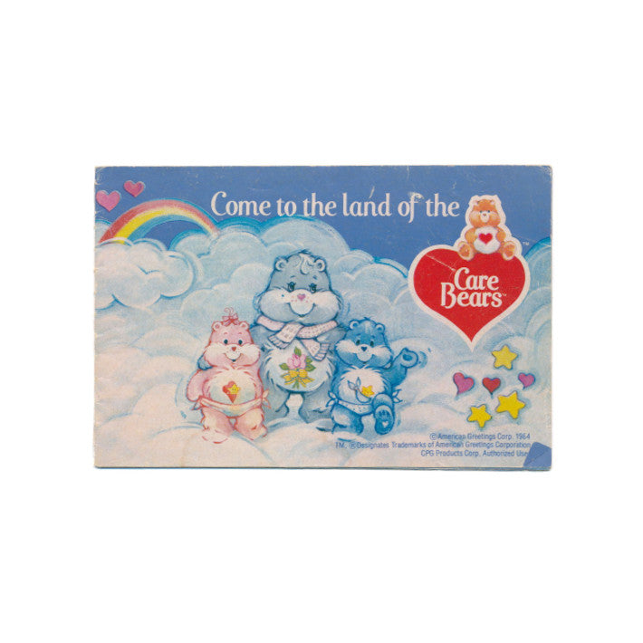 Care Bears vintage 1984 advertising booklet