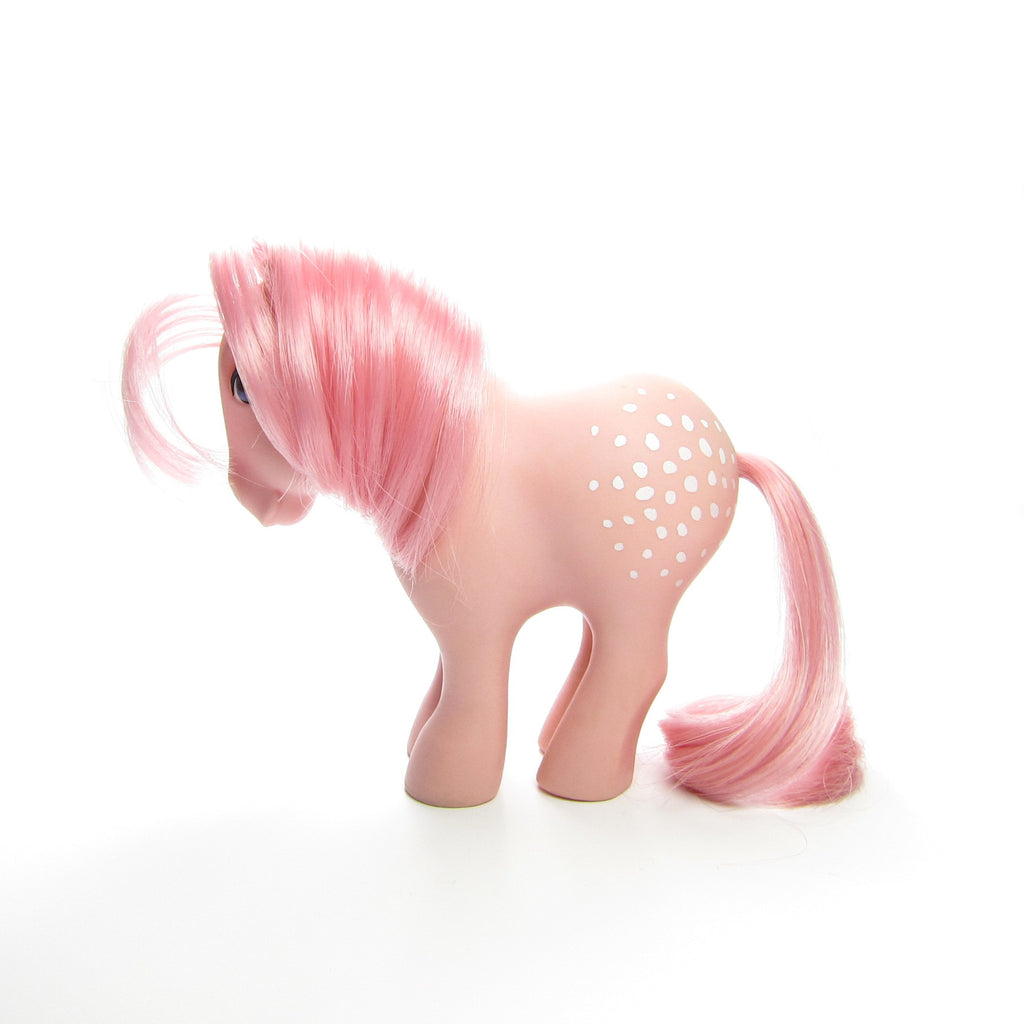 Cotton Candy My Little Pony Vintage G1 with Concave Feet