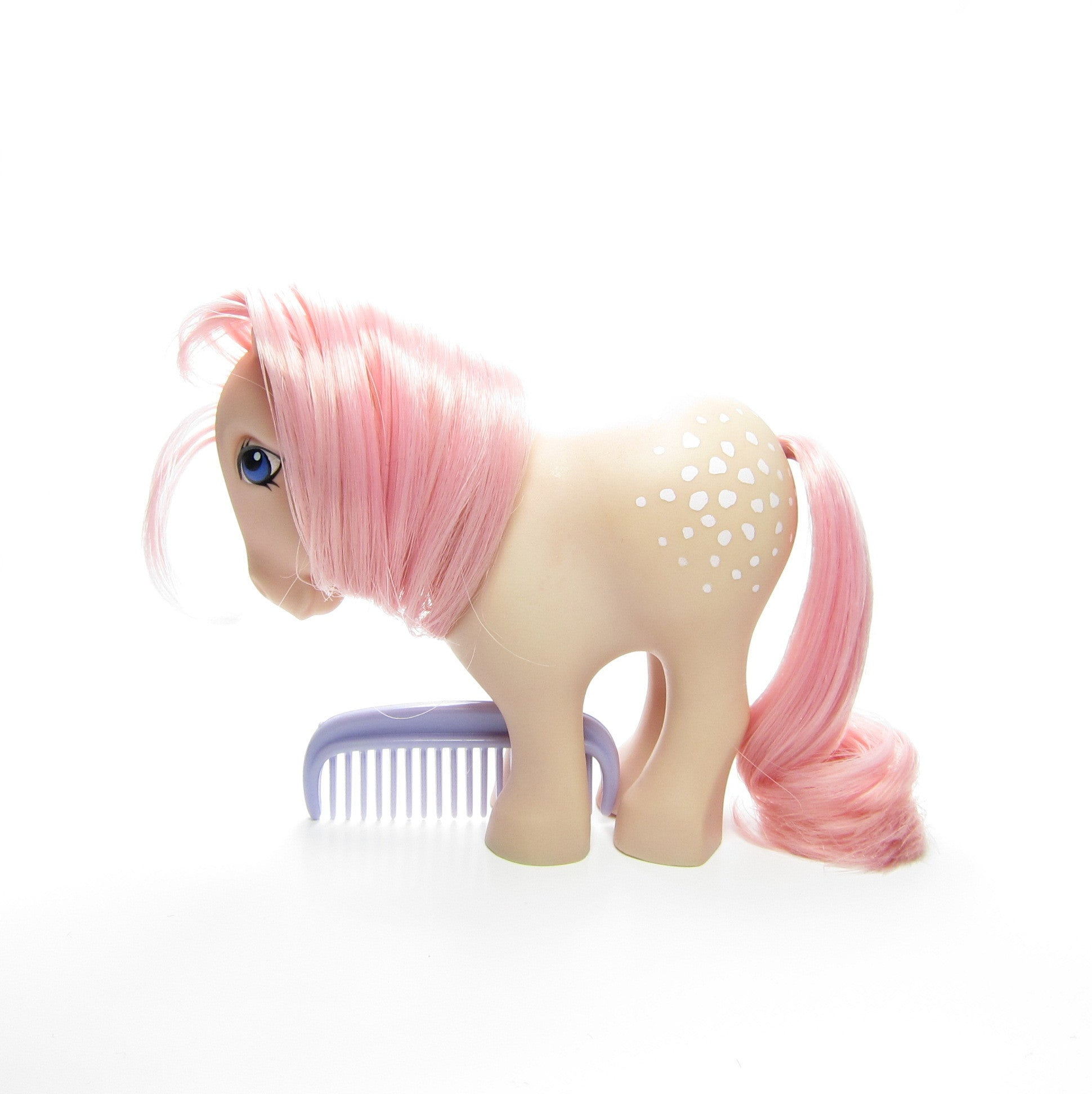 Flat Foot Cotton Candy My Little Pony Vintage G1
