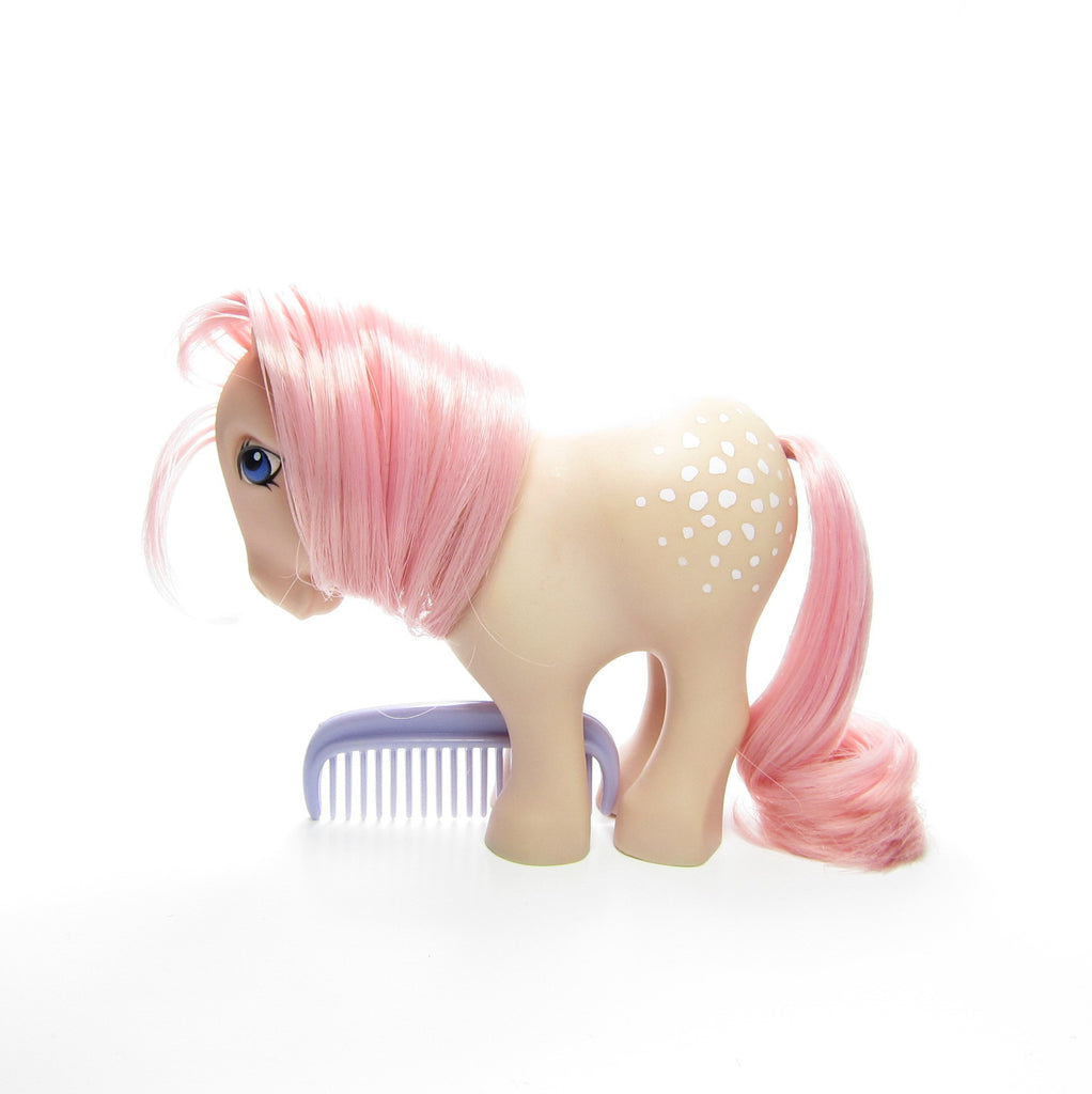 Flat Feet Cotton Candy My Little Pony Vintage G1