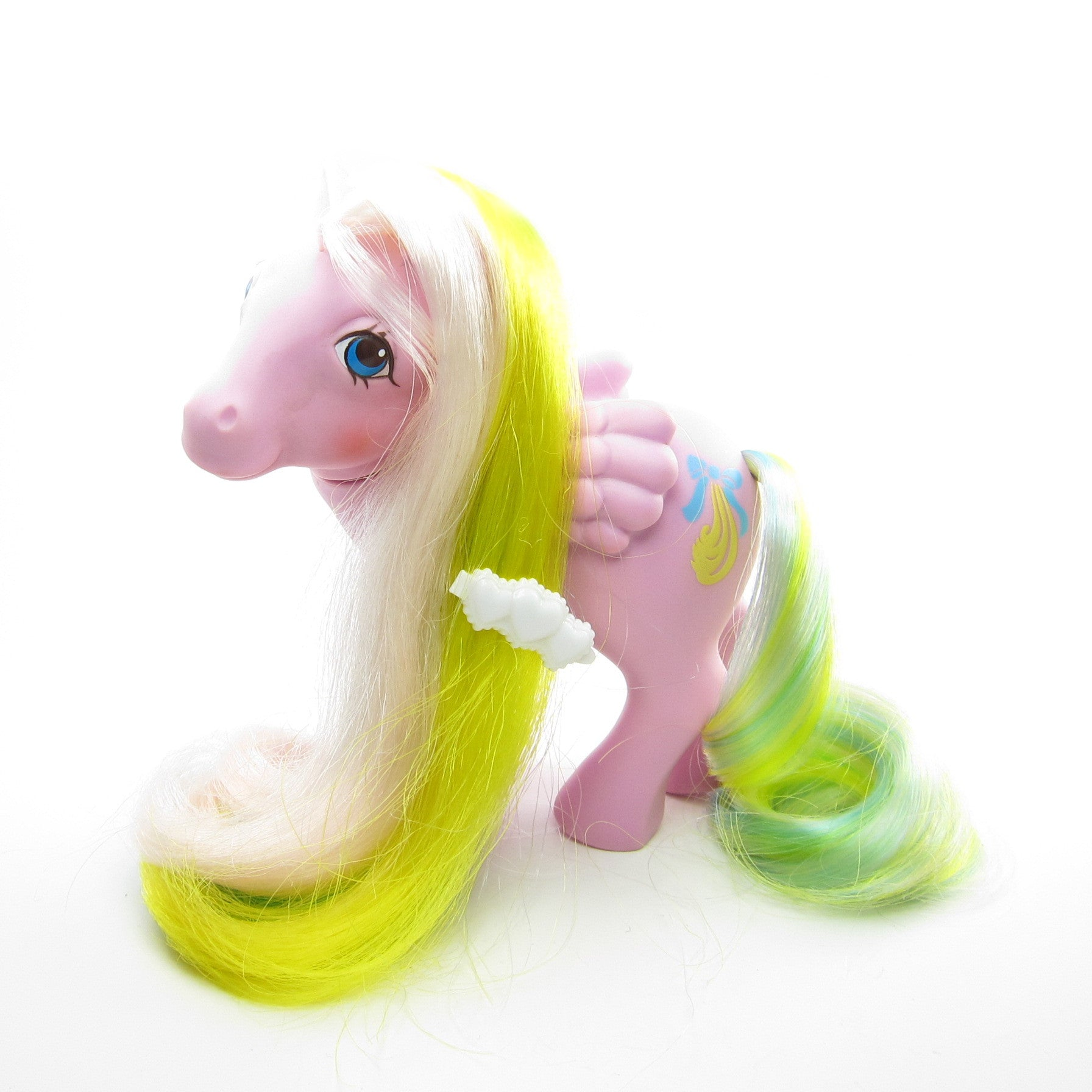 Curly Locks My Little Pony Brush 'n Grow hair