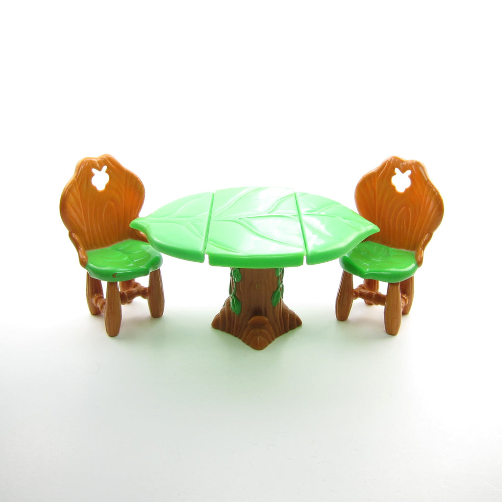Dining Table & Chairs for Strawberry Shortcake Berry Happy Home Dollhouse