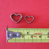 Dollhouse miniature cookie cutters - large and small