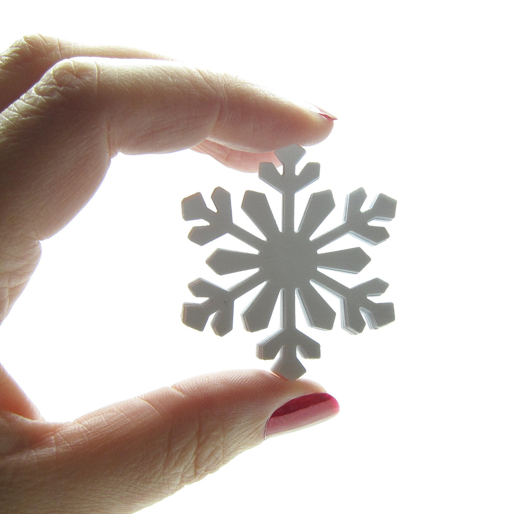 Large Snowflake Paper Punches for Scrapbooking, Card Making