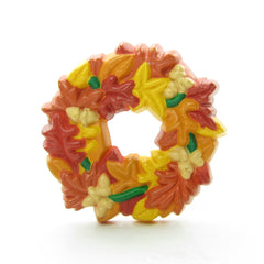 Fall leaves wreath pin by Hallmark
