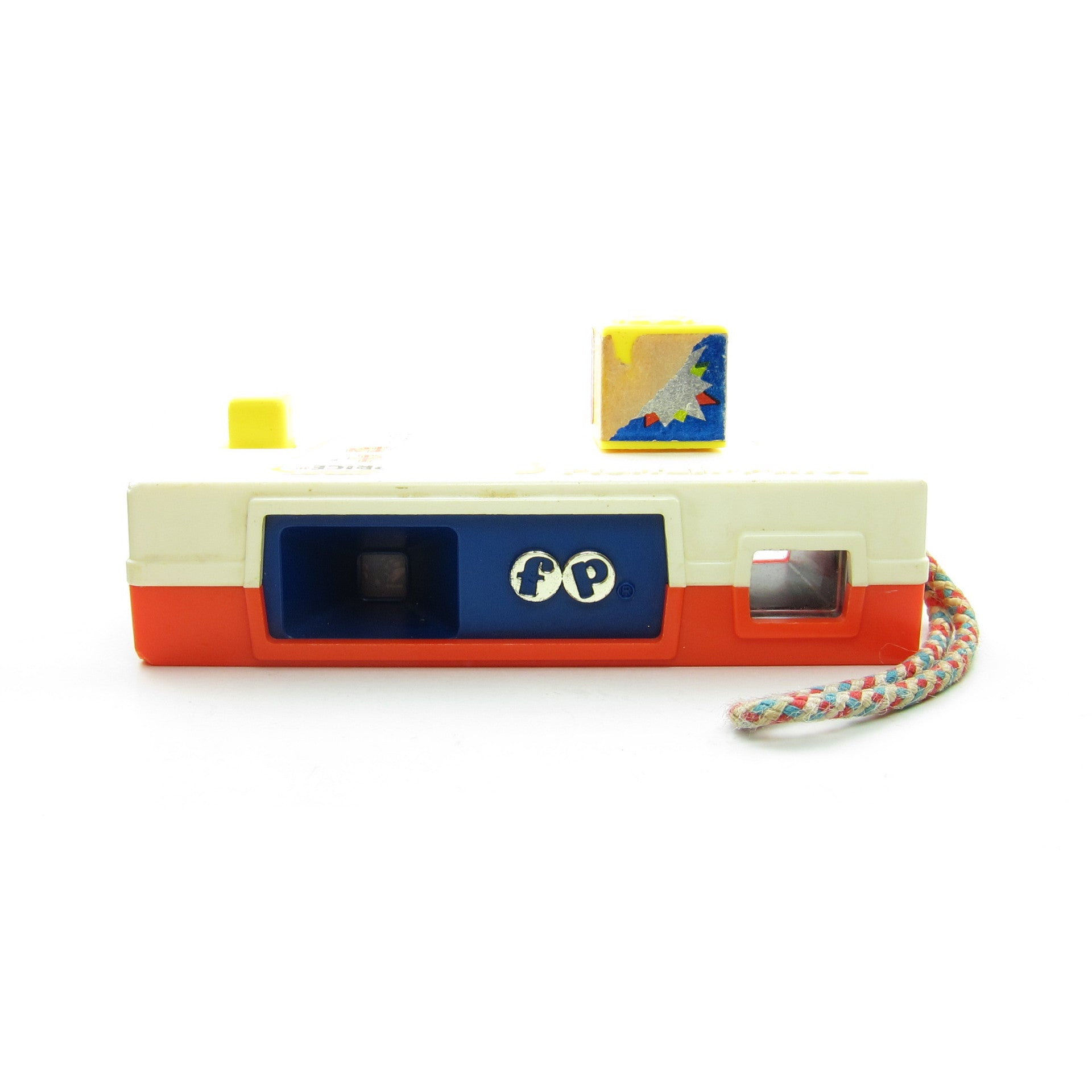 Fisher-Price vintage 1973 Pocket Camera with zoo pictures