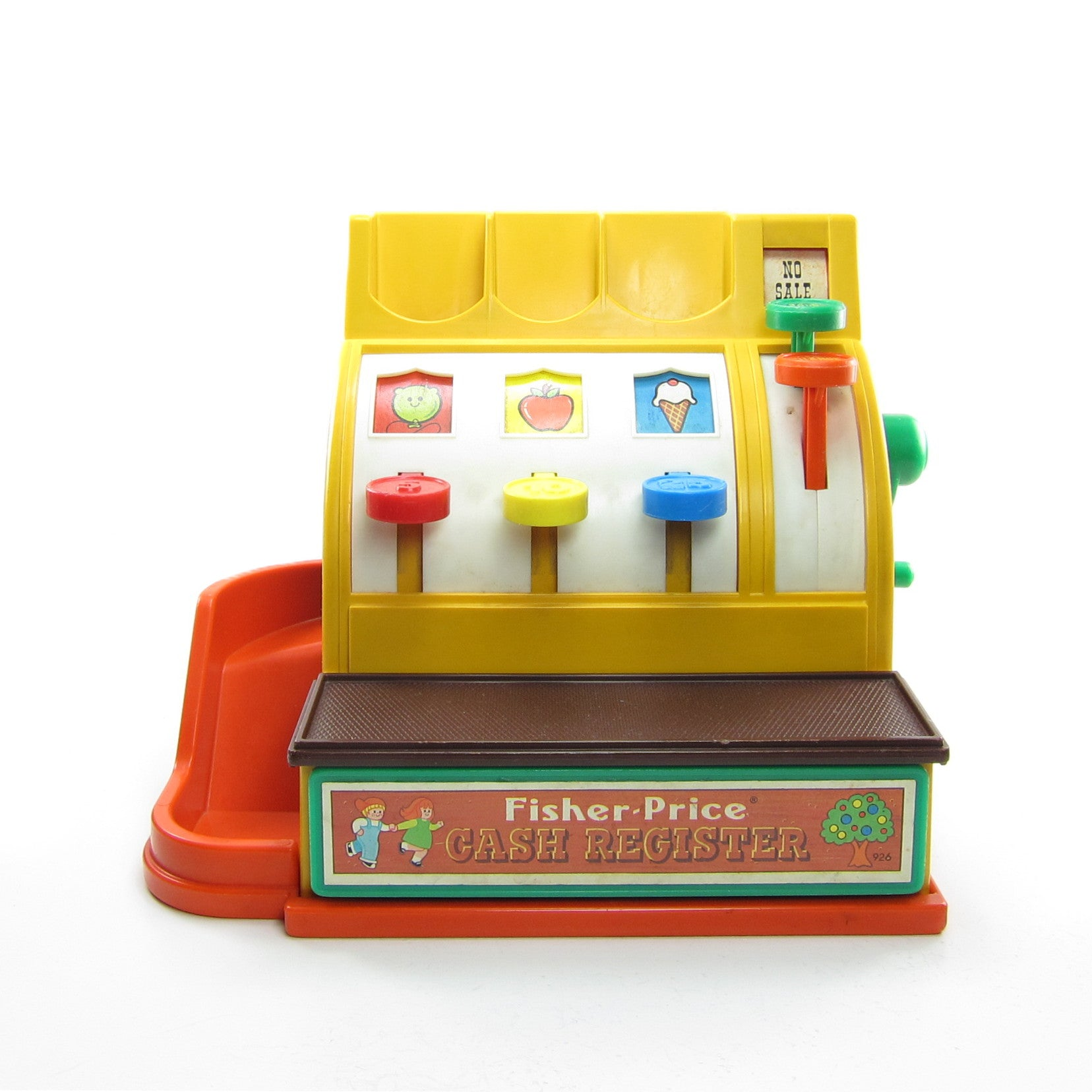 Fisher-Price cash register toy 1974