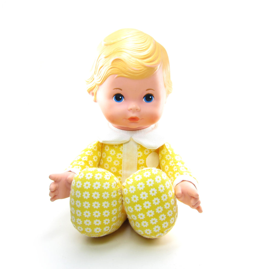 Honey Doll Vintage 1975 Fisher-Price Lap Sitter with Cloth Body
