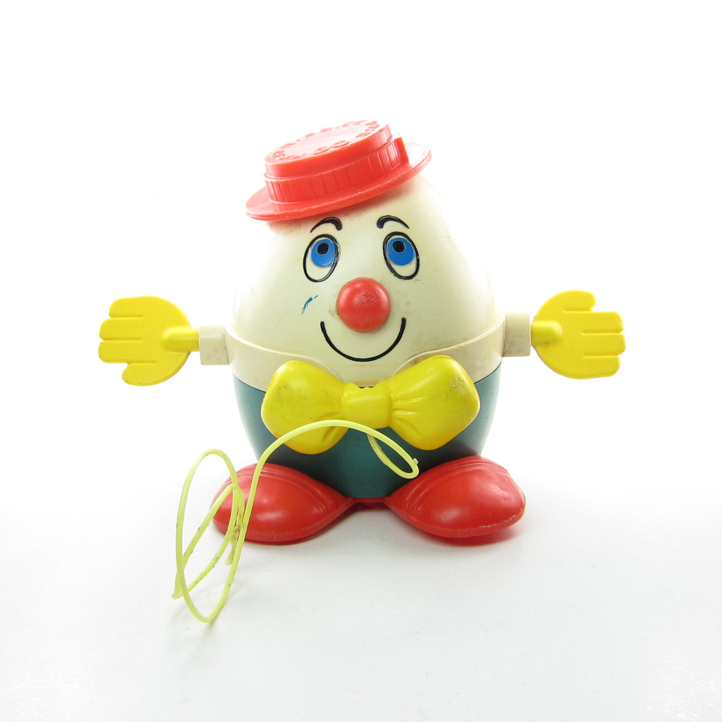 Humpty Dumpty Vintage Fisher-Price #736 Toddler Pull Toy