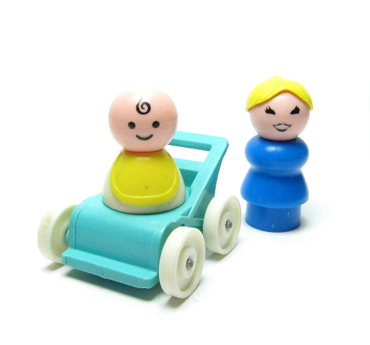 Mom & Baby Fisher-Price Little People Play Family Figures