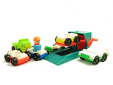 Fisher-Price Play Family Little People cars, trucks, and mechanic lift