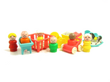 Fisher-Price Nursery Set Play Family Little People toys