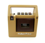 Fisher-Price 1980 portable cassette player and tape recorder