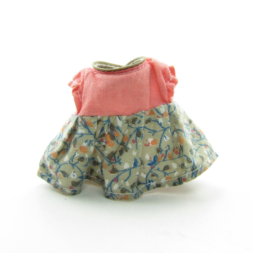 Dress for Flora Wildwood Vintage Sylvanian Families Grandmother