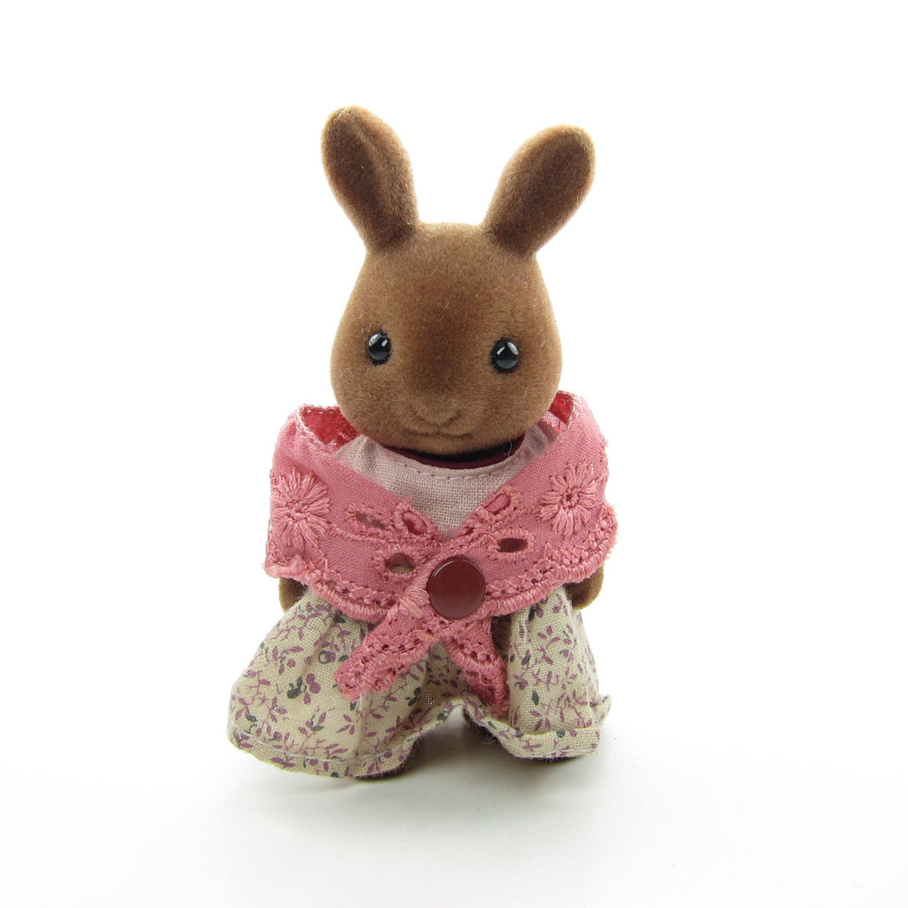 Flora Wildwood Brown Rabbit Vintage Sylvanian Families Grandmother