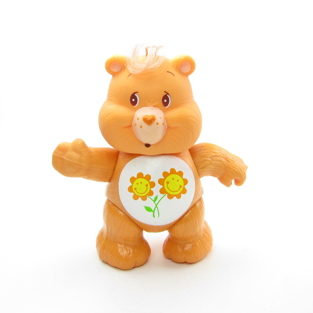 Friend Bear Vintage Care Bears Poseable 3-Inch Figure