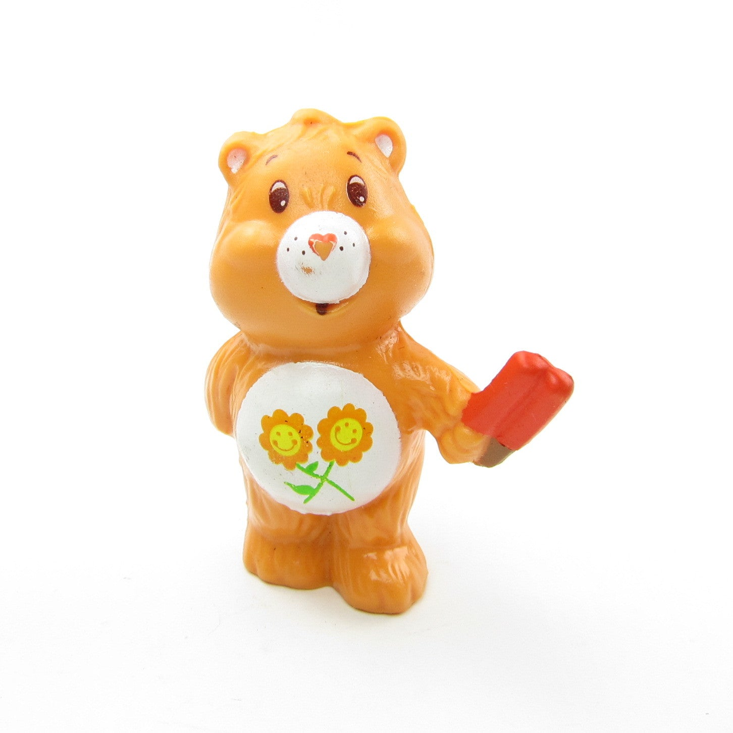 Care Bears Friend Bear with an ice pop miniature figurine
