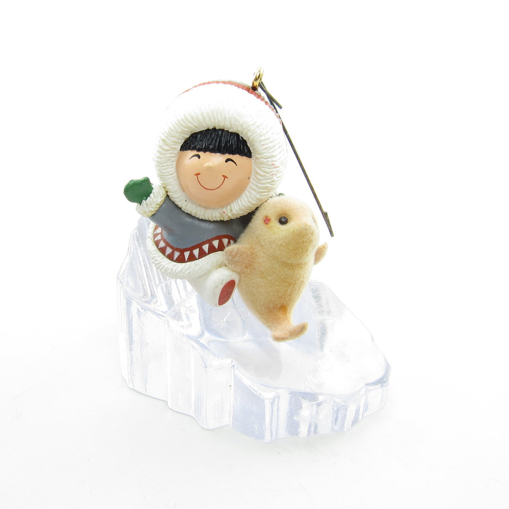 Frosty Friends Ornament #11 1990 Vintage Hallmark Keepsake