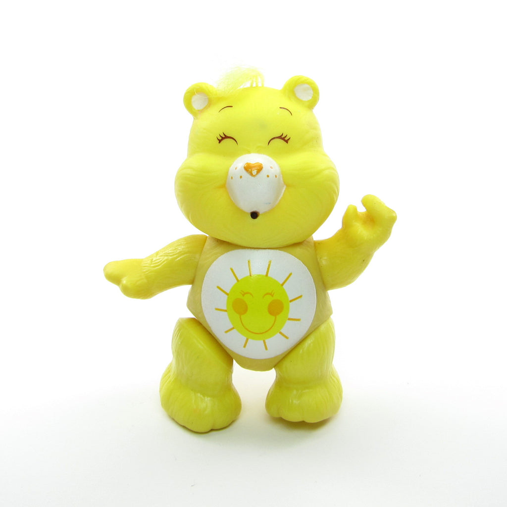 Funshine Bear Vintage Care Bears Poseable 3-Inch Figure