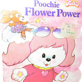 Poochie Flower Power book with flocked fuzzy cover