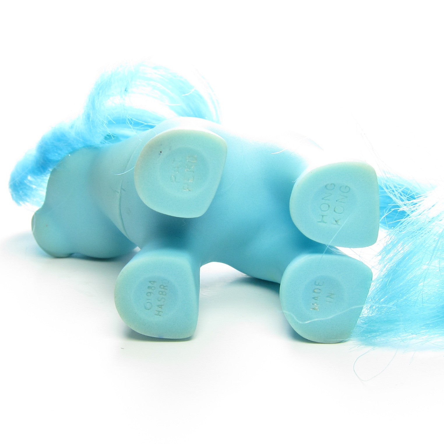 Blue Baby Ember My Little Pony Mail Order Toy Brown Eyed