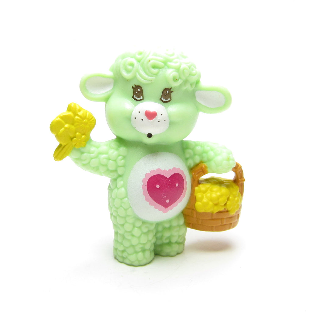 Gentle Heart Lamb Picking Flowers Care Bears Cousins Miniature