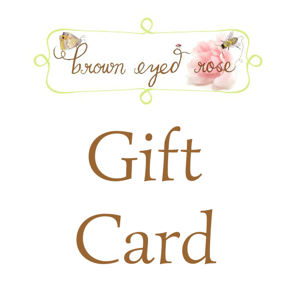 Brown Eyed Rose Gift Card