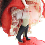 Blythe Red Delicious doll with tulle underskirt