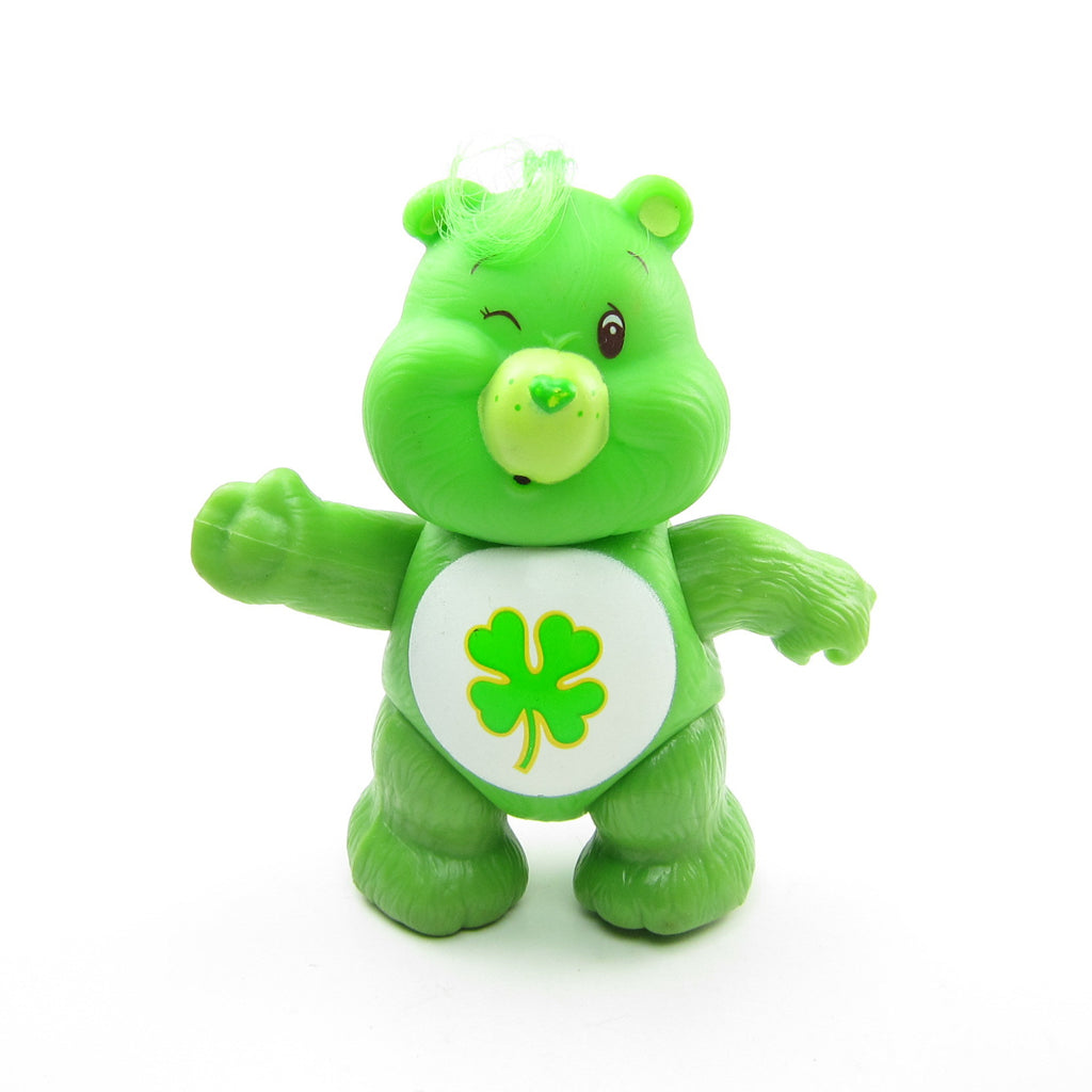 Good Luck Bear Vintage Care Bears Poseable 3-Inch Figure