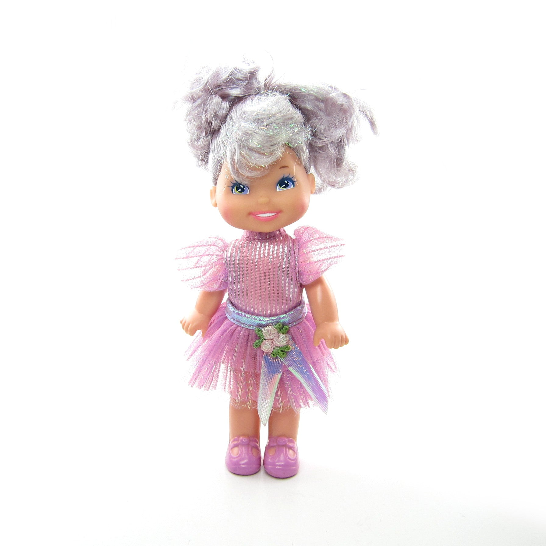 Grape Ice Cherry Merry Muffin doll with purple dress