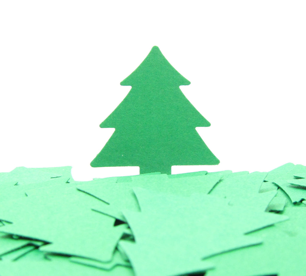 Tree Confetti Paper Punches Trees for Weddings, Scrapbooking, Card Making