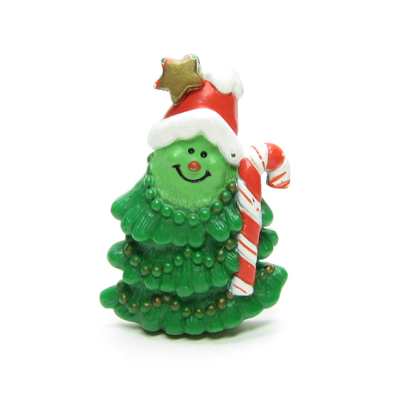 Hallmark Christmas tree pin with candy cane