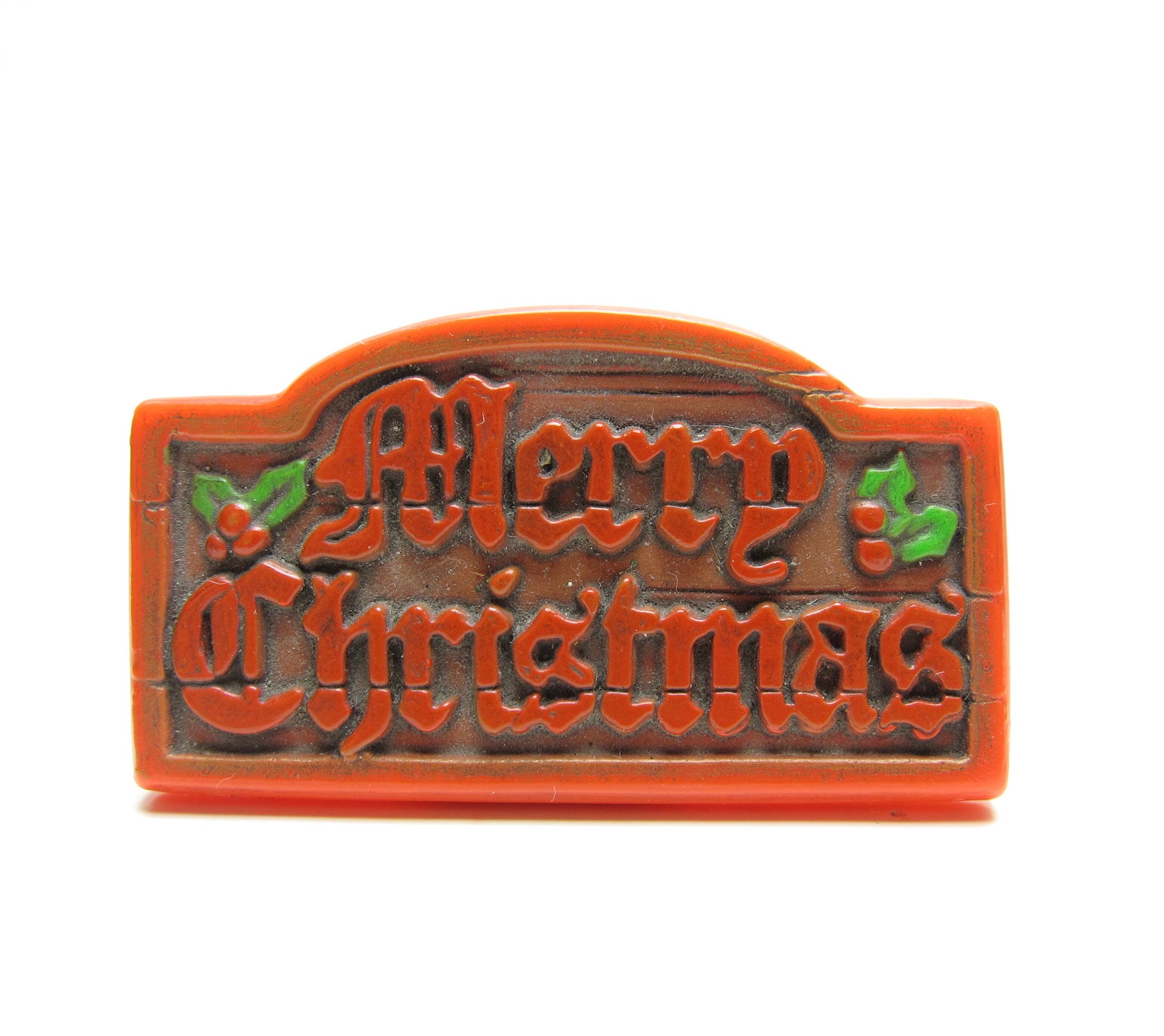 Merry Christmas Hallmark lapel pin