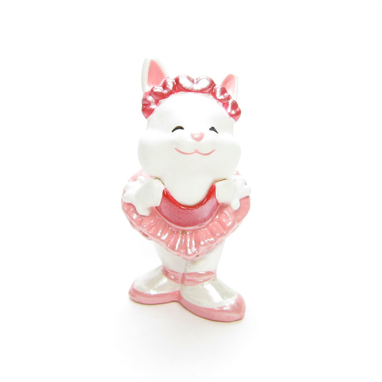 Hallmark Bunny in Tutu Merry Miniatures figurine