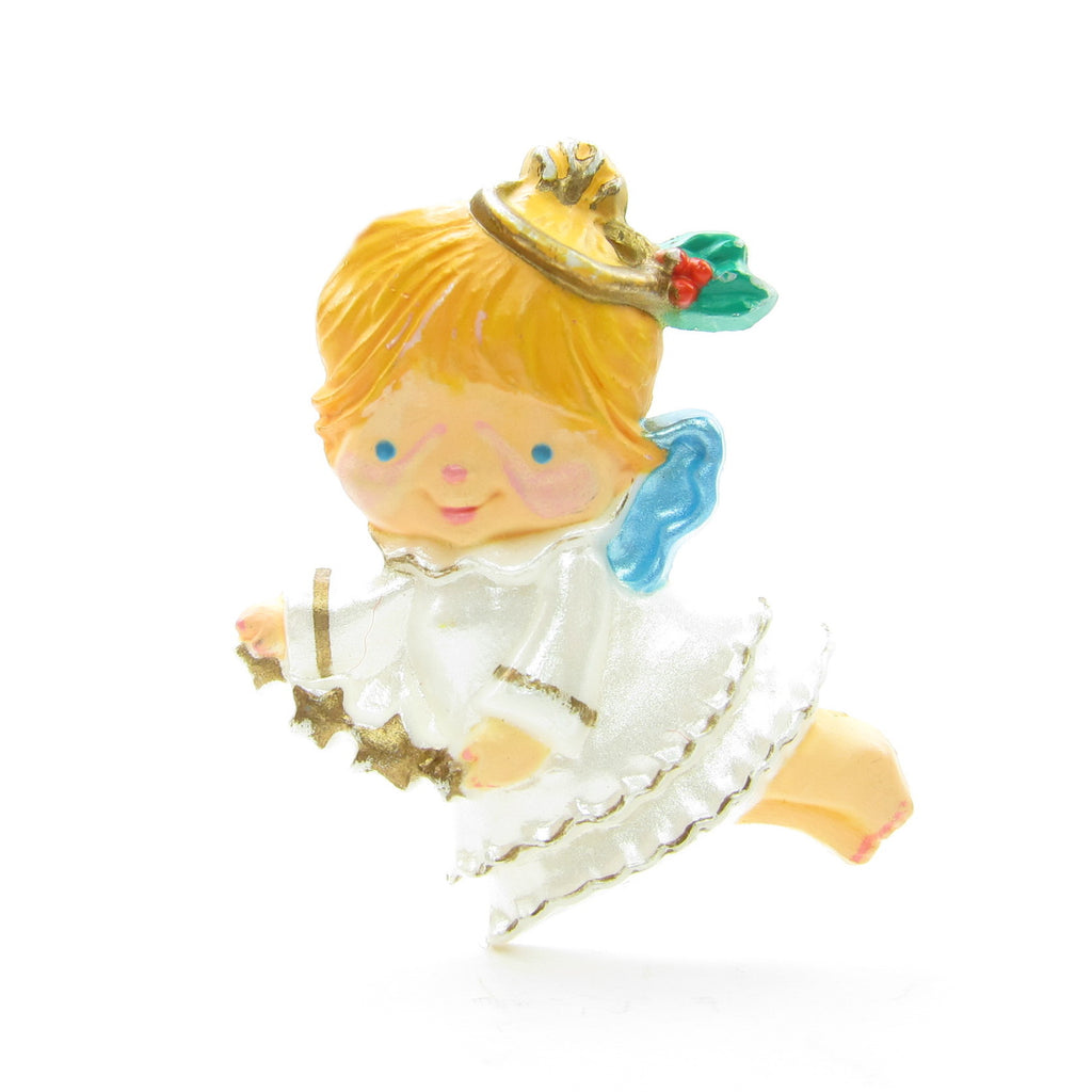 Angel Pin Vintage 1986 Hallmark Christmas Girl