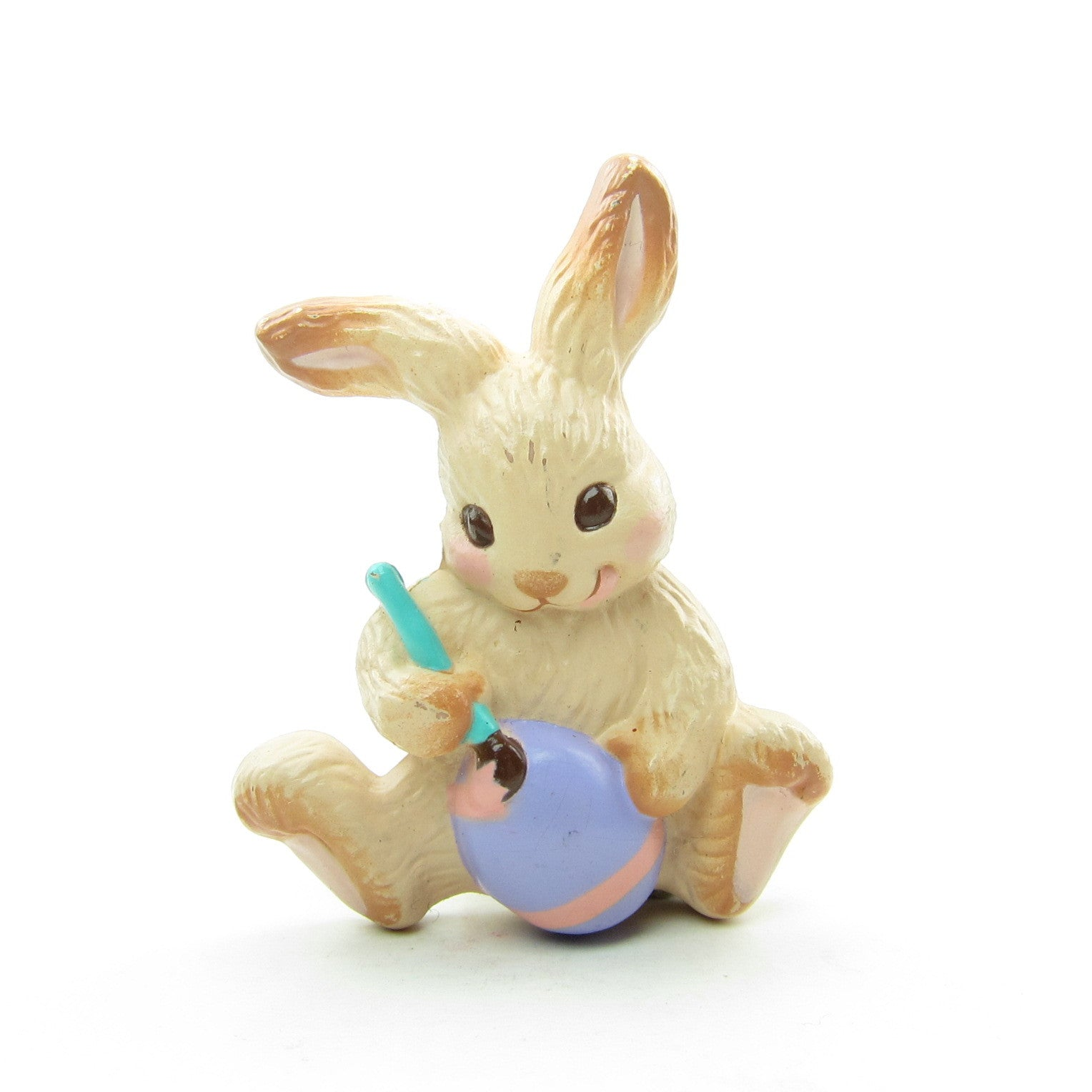Hallmark bunny painting Easter egg lapel pin