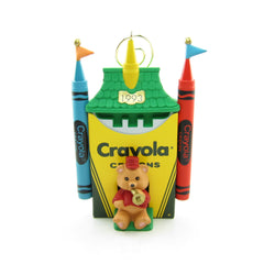 Bright Shining Castle Crayola Crayons 1993 Hallmark Ornament