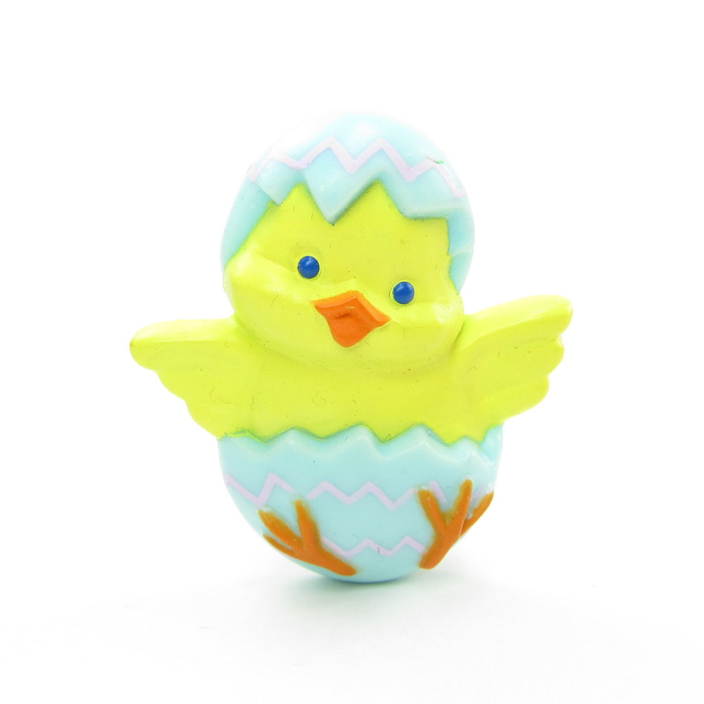 Easter Chick in Egg Pin Vintage 1983 Hallmark Lapel