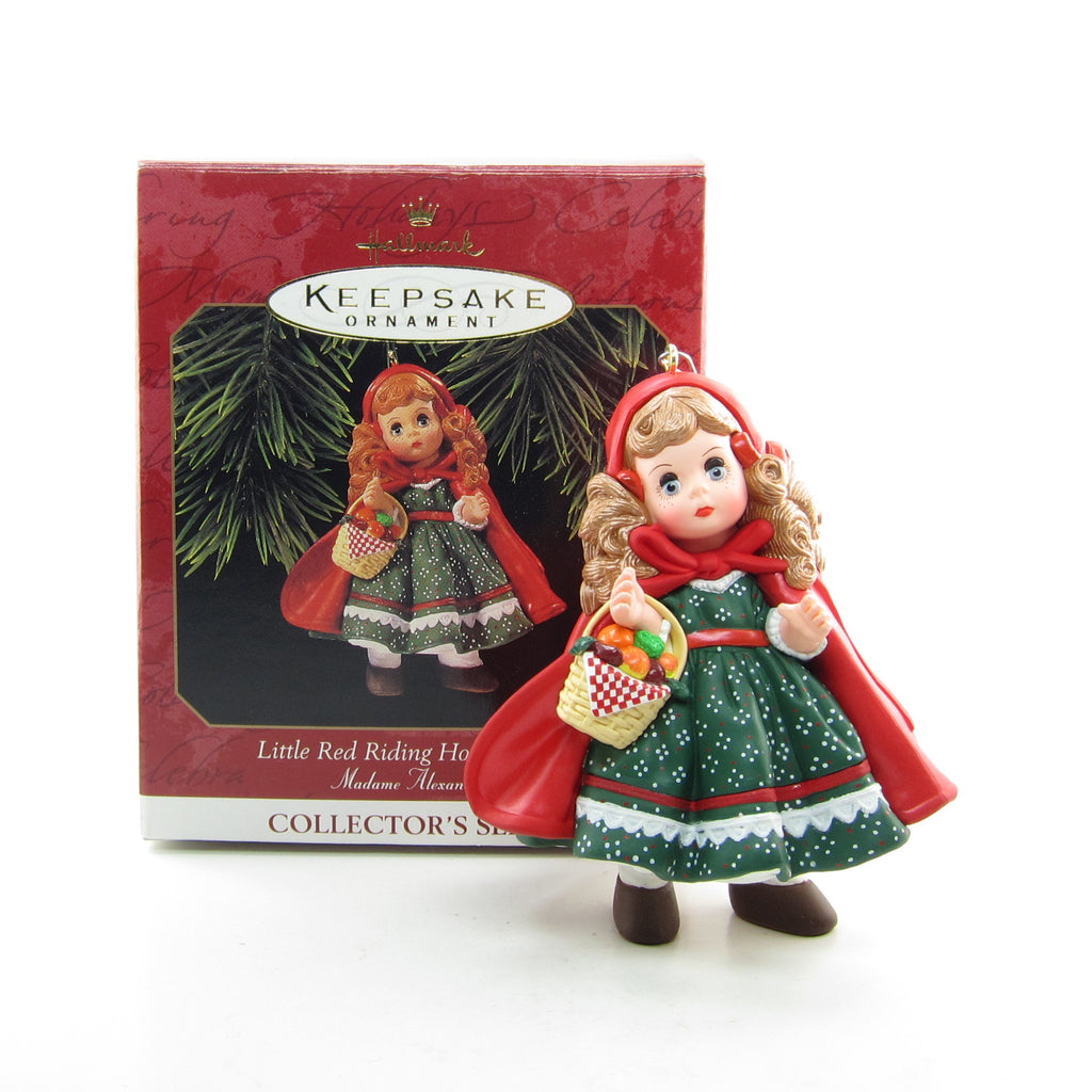 "Madame Alexander ""Little Red Riding Hood - 1991"" Vintage 1997 Hallmark Ornament #2"