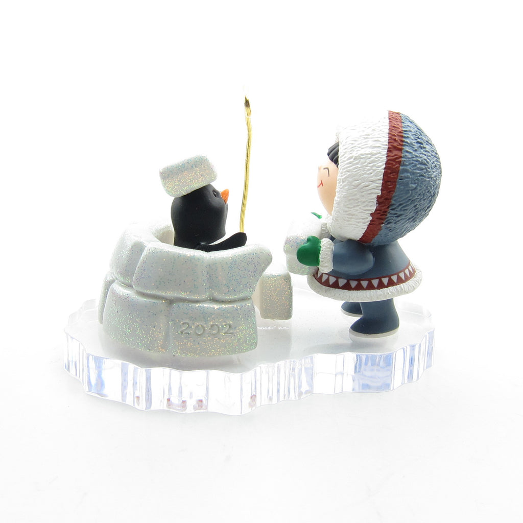 Frosty Friends Ornament #23 2002 Hallmark Keepsake