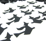 Flying Black Witch Confetti Paper Punches