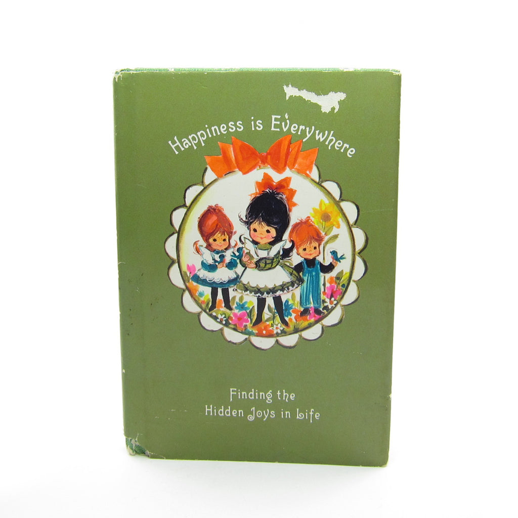 Happiness is Everywhere Vintage 1967 Hallmark Mini Book