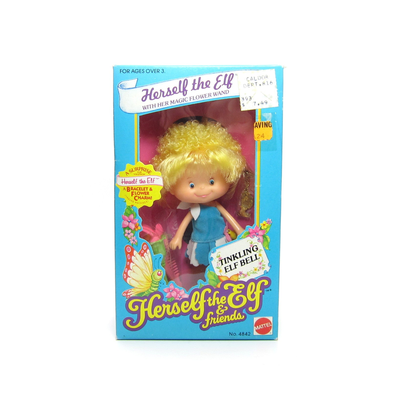 Herself the Elf Doll Mint in Box