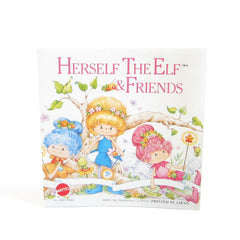Herself the Elf & Friends advertising pamphlet with toys