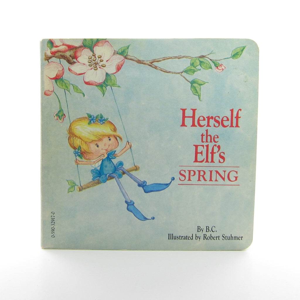 Herself the Elf's Spring Vintage 1983 Children's Board Book with Flaps