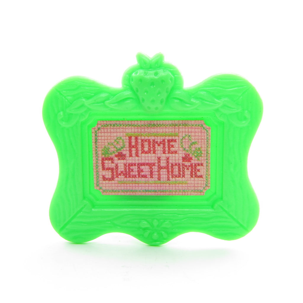Home Sweet Home Picture Frame for Strawberry Shortcake Berry Happy Home Dollhouse
