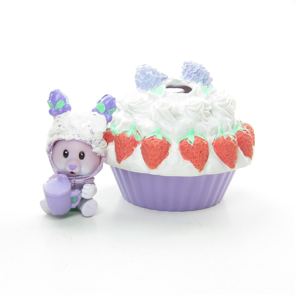 Huggable Lilac Cuddles Strawberry Shortcake Playpen Tea Bunnies Baby Toy
