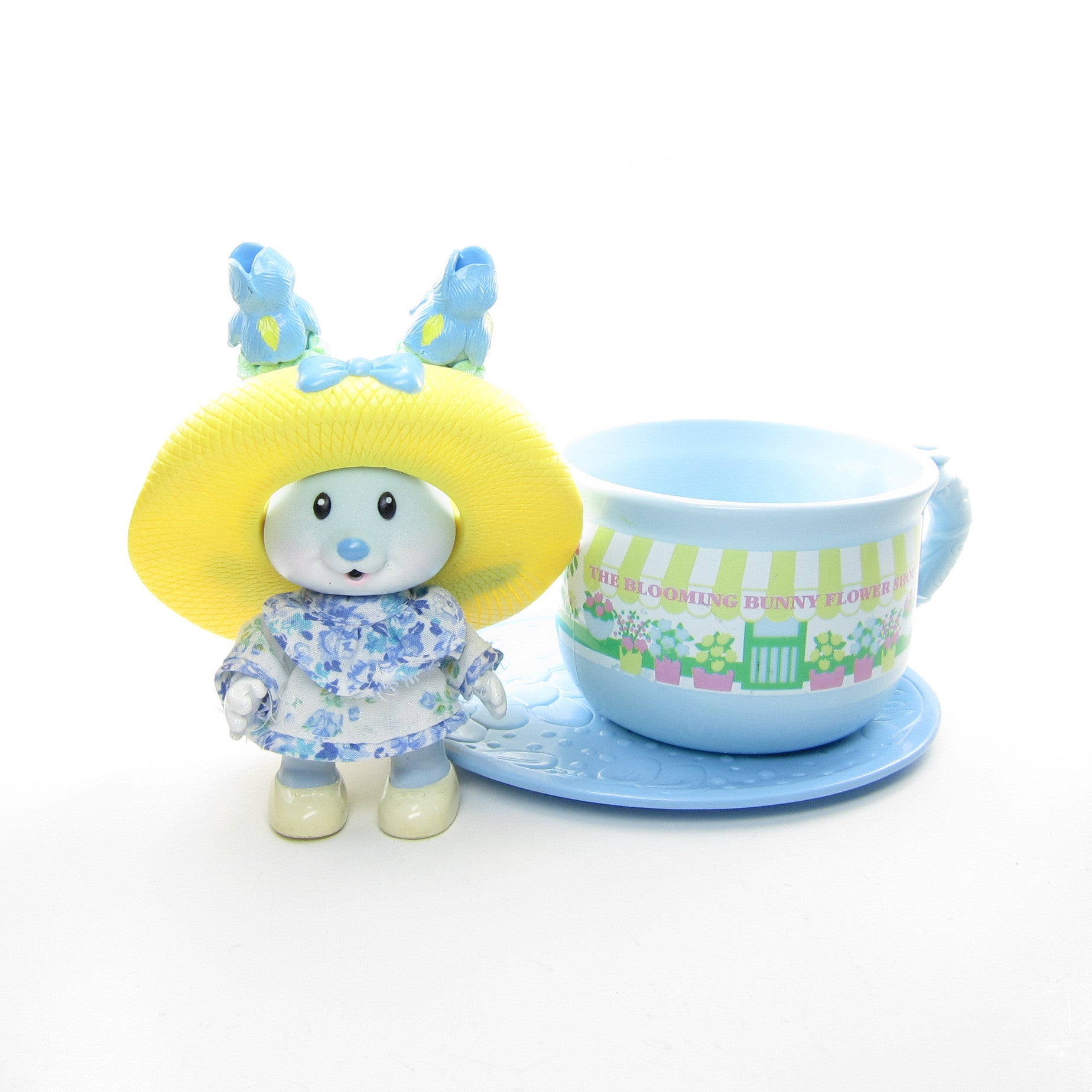 Iris Bouquet and the Blooming Bunny Flower Shop Tea Bunnies toy