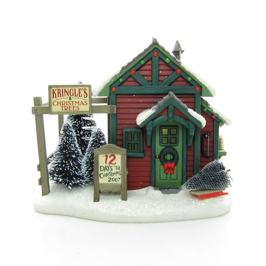 Kringle's Christmas Trees 2007 Hallmark Kringlewood Farms Keepsake Ornament