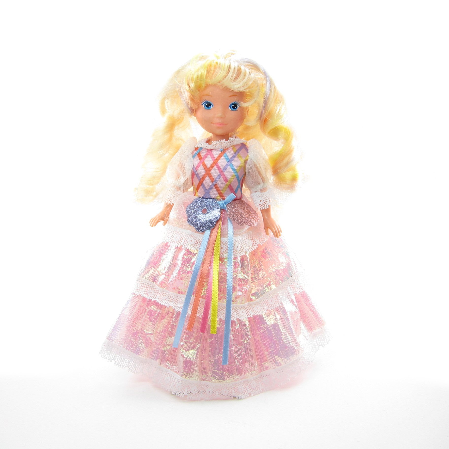 Lady LovelyLocks doll with original pink dress